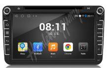 "PZ34 Autorádio pro VW, Škoda s 8"" LCD, Android 4.4.4, WI-FI, GPS, BT, DVD"
